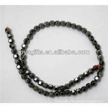 Natural hematite 6*6MM loose beads for jewelry